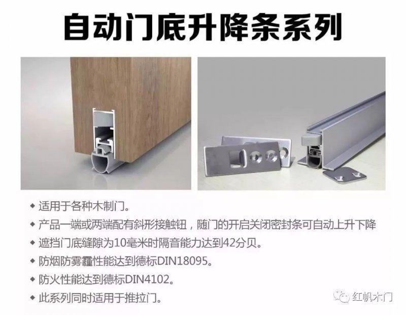 红帆木门:木门为什么要拥有隔音密封装置?滑车